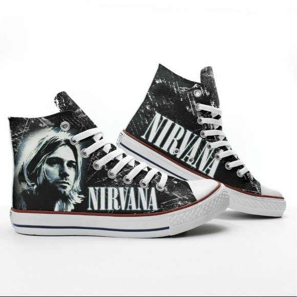 Nirvana Converse Chuck Taylor All Star Shoes Uni